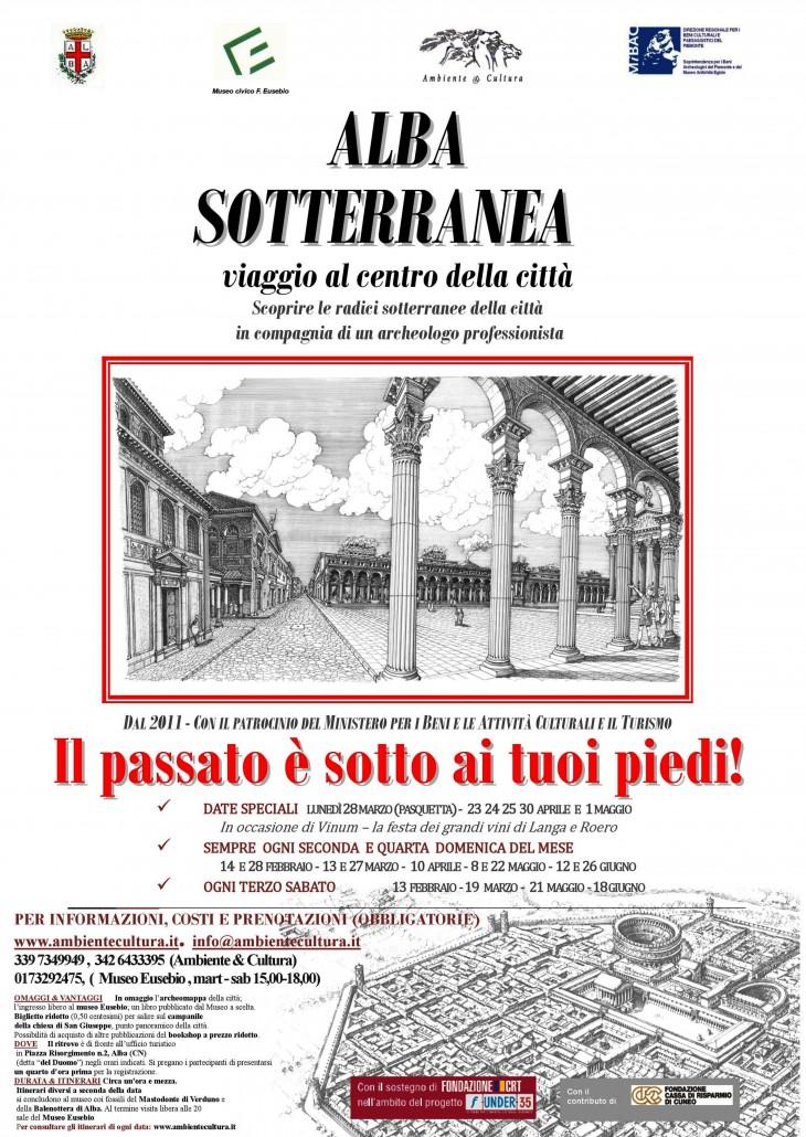 Locandina in lingua italiana - formato A3