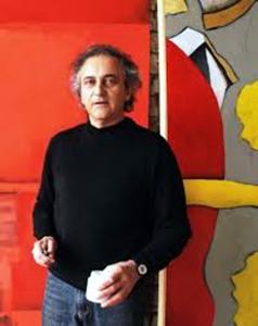 L'artista Giancarlo Ferraris