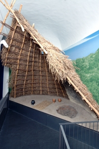 Museo Eusebio ricostruzione capanna di corso Langhe 65