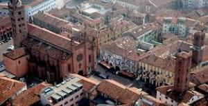 Veduta del centro storico di Alba