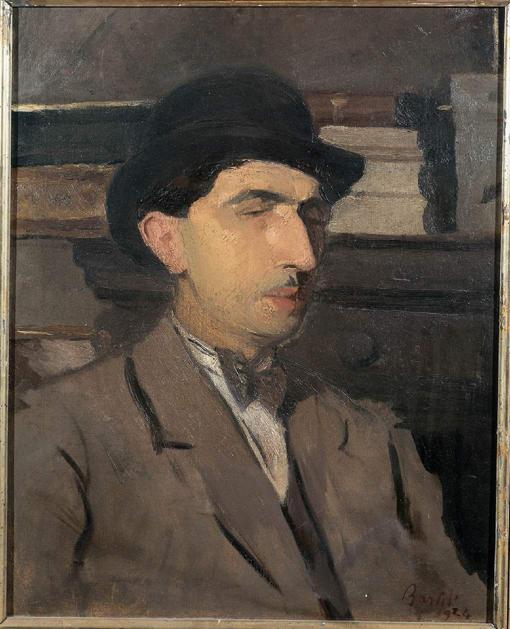 Roberto Longhi, ritratto di Amerigo Bartoli
