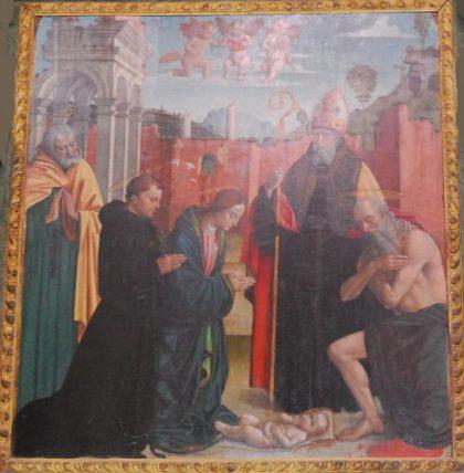 Macrino, Madonna col Bambino(San Giovanni)