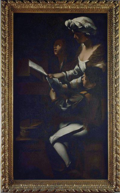 Il concertino del caravaggesco Mattia Preti